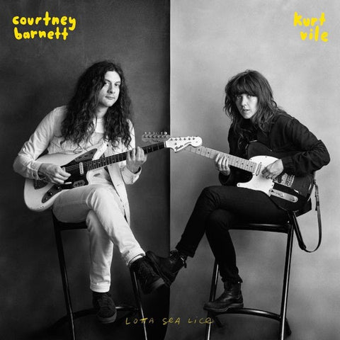BARNETT COURTNEY & KURT VILE-LOTTA SEA LICE LP *NEW*