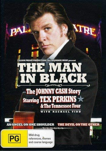 MAN IN BLACK-THE JOHNNY CASH STORY DVD VG