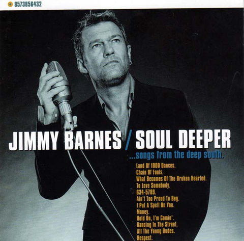 BARNES JIMMY-SOUL DEEPER 2CD VG