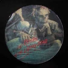 RETURN OF THE LIVING DEAD OST-VARIOUS ARTISTS PICTURE DISC LP VG COVER VG
