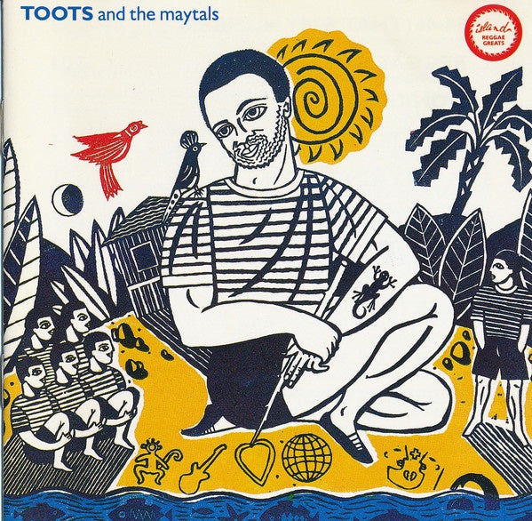 TOOTS & THE MAYTALS-REGGAE GREATS CD VG