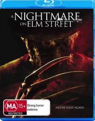 A NIGHTMARE ON ELM STREET BLURAY VG