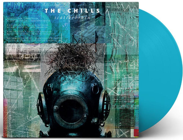 CHILLS THE-SCATTERBRAIN SKY BLUE VINYL LP *NEW*