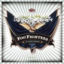 FOO FIGHTERS-IN YOUR HONOR 4LP VG COVER VG+
