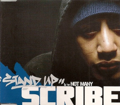 SCRIBE-STAND UP / NOT MANY SINGLE CD VG