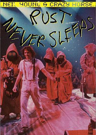 YOUNG NEIL & CRAZY HORSE-RUST NEVER SLEEPS DVD VG