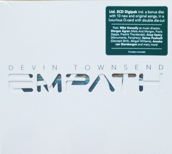 TOWNSEND DEVIN-EMPATH 2CD *NEW*