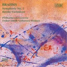 BRAHMS - SYMPHONY NO 2 HAYDN VARIATIONS CD VG