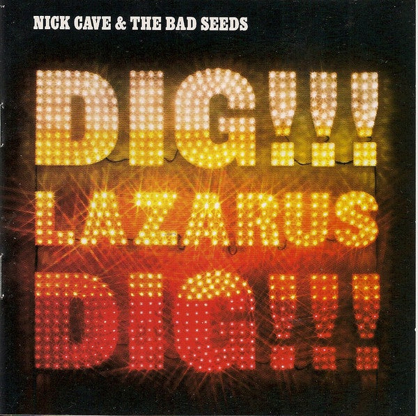 CAVE NICK & THE BAD SEEDS-DIG!!! LAZARUS DIG !! CD VG