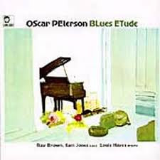 PETERSON OSCAR-BLUES ETUDES LP EX COVER VG+