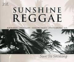 SUNSHINE REGGAE-SUN IS SHINING VARIOUS ARTISTS 2CD *NEW*