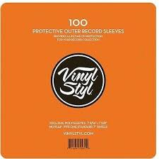 "7"" OUTER SLEEVES 100 *NEW*"
