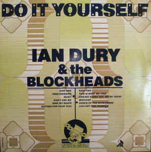 DURY IAN-DO IT YOURSELF LP VG+ COVER VG+