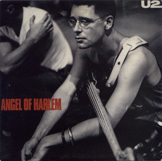 U2-ANGEL OF HARLEM VG+ COVER VG