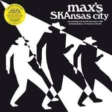 MAX'S SKANSAS CITY-VARIOUS ARTISTS CLEAR WHITE VINYL LP *NEW*