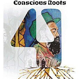 CONSCIOUS ROOTS 4-VARIOUS ARTISTS CD VG