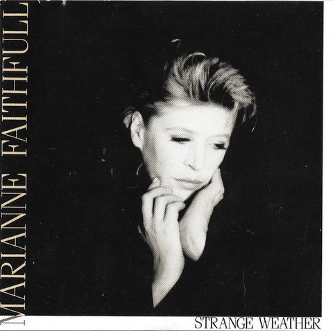 FAITHFUL MARIANNE-STRANGE WEATHER CD VG