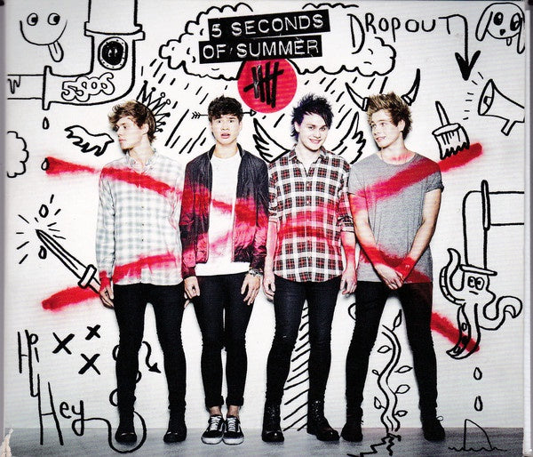 5 SECONDS OF SUMMER-DROPOUT CD VG