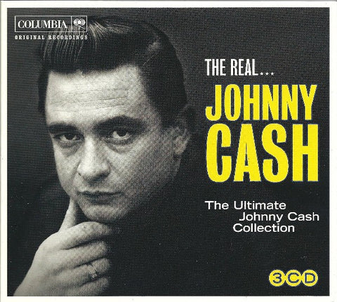 CASH JOHNNY-THE REAL JOHNNY CASH 3CD VG+