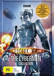 DOCTOR WHO CYBERMEN COLLECTION 2DVD VG+