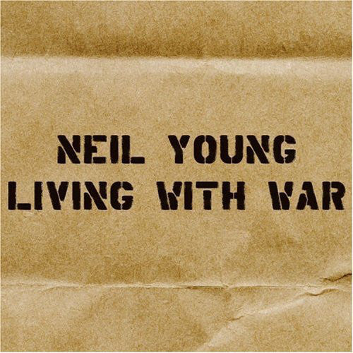 YOUNG NEIL-LIVING WITH WAR CD VG+