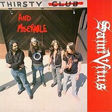 "SAINT VITUS-THIRSTY & MISERABLE 12"" EP EX COVER EX"