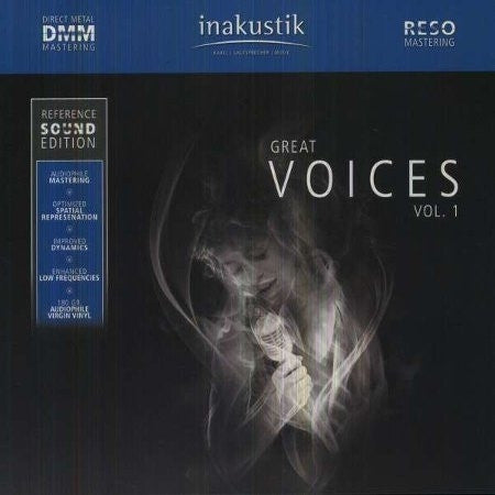 GREAT VOICES VOL 1 REFERENCE SOUND EDITION-VARIOUS ARTISTS 2LP *NEW*