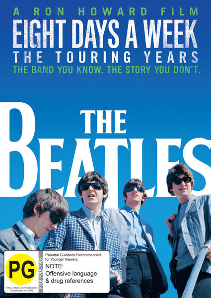 BEATLES THE-EIGHT DAYS A WEEK THE TOURING YEARS DVD *NEW*