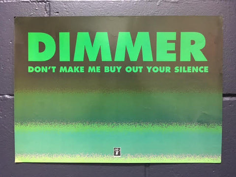 DIMMER PROMO POSTER