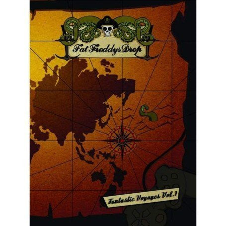 FAT FREDDY'S DROP-FANTASTIC VOYAGES VOL 1 DVD VG