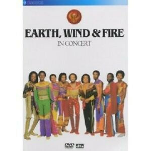 EARTH, WIND & FIRE IN CONCERT REGION TWO DVD VG+