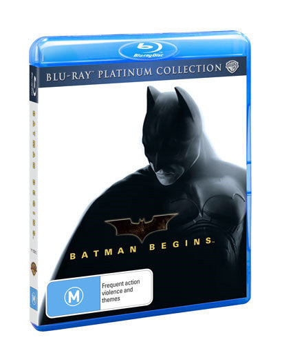 BATMAN BEGINS BLURAY VG