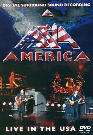 ASIA-AMERICA LIVE IN THE USA DVD REGION UNKNOWN VG