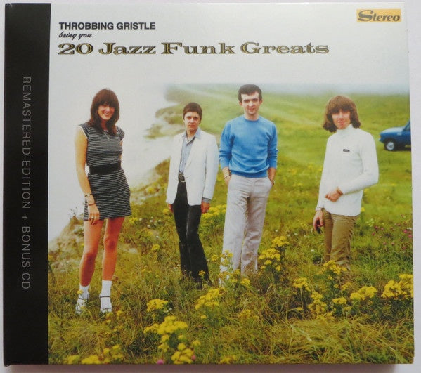 THROBBING GRISTLE-20 JAZZ FUNK GREATS 2CD *NEW*