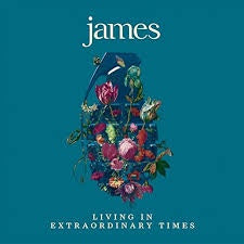 JAMES-LIVING IN EXTRAORDINARY TIMES 2LP *NEW*