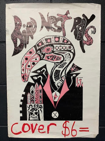 BIRD NEST ROYS-ORIGINAL GIG POSTER