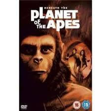 BENEATH THE PLANET OF THE APES DVD REGION 2 VG