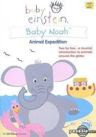 BABY EINSTEIN-BABY NOAH ANIMAL EXPEDITION DVD *NEW*