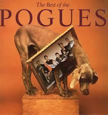 POGUES THE-BEST OF THE POGUES LP VG COVER VG+