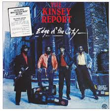 KINSEY REPORT THE-EDGE OF THE CITY LP NM COVER EX