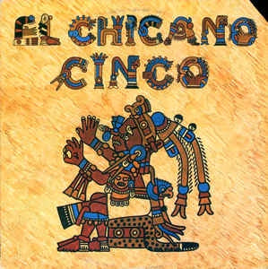EL CHICANO-CINCO LP EX COVER VG+