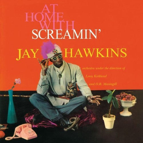 HAWKINS SCREAMIN JAY-AT HOME WITH LP *NEW*