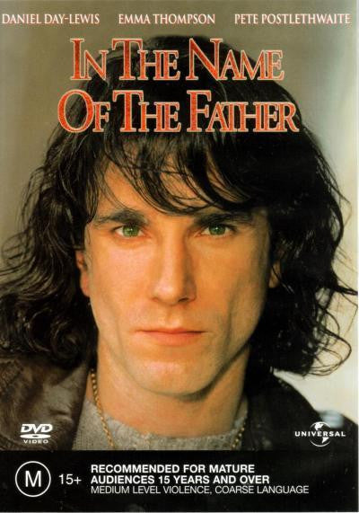 IN THE NAME OF THE FATHER DVD VG