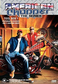 AMERICAN CHOPPER TOOL BOX 1-3DVD BOXSET M