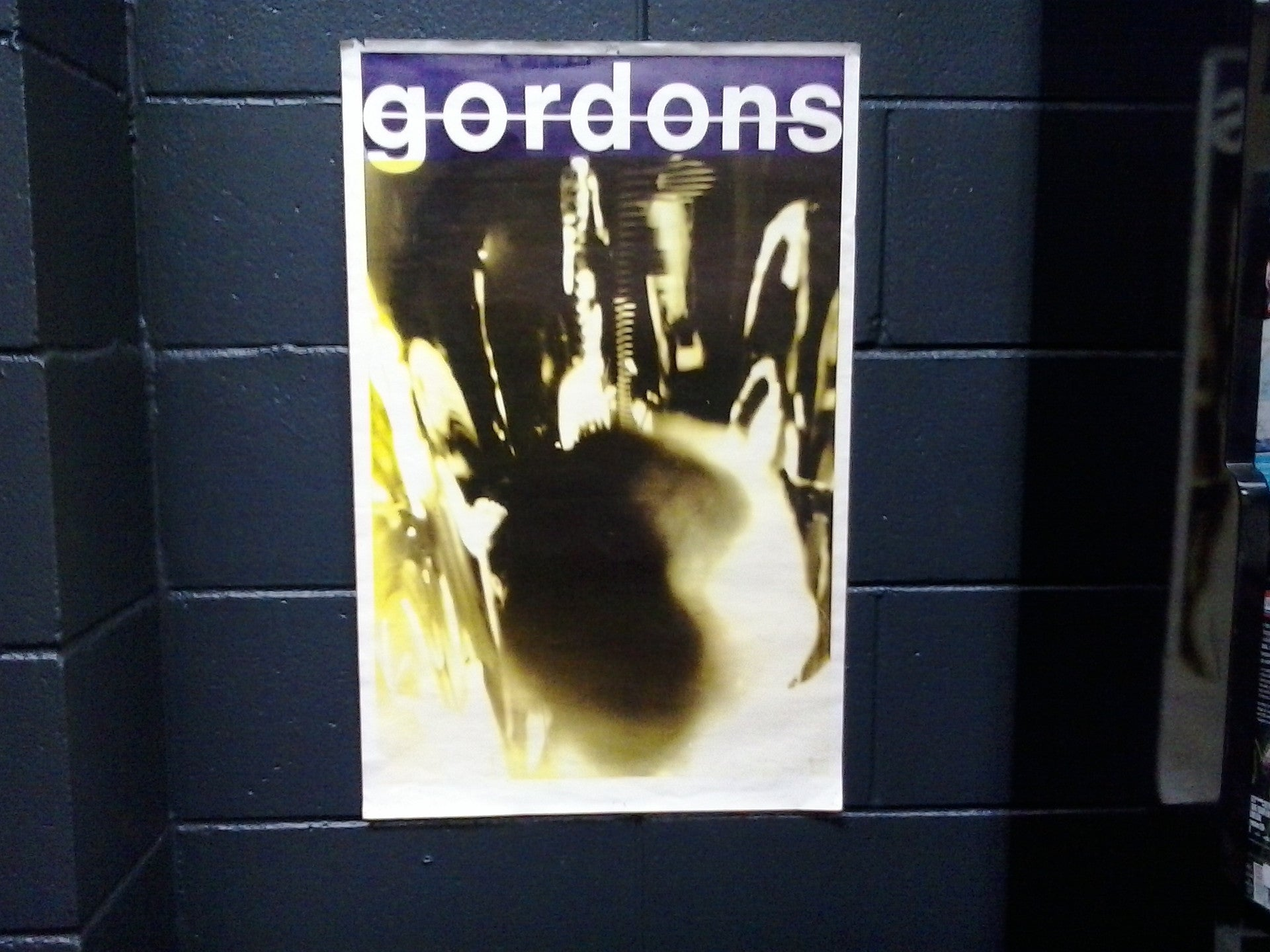 GORDONS THE-ORIGINAL GIG POSTER