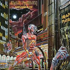 IRON MAIDEN-SOMEWHERE IN TIME LP VG+ COVER VG+