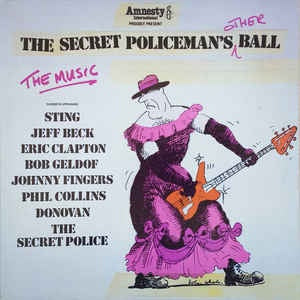 SECRET POLICEMAN'S OTHER BALL-VARIOUS ARTISTS LP VG+ COVER VG