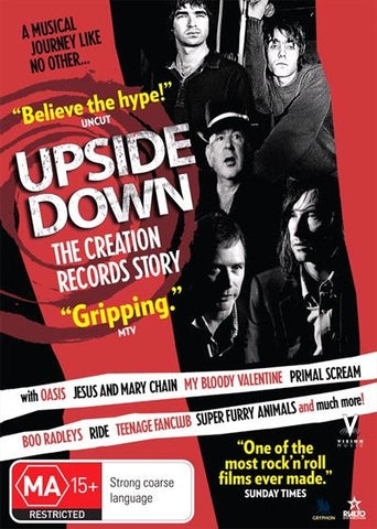 UPSIDE DOWN: THE CREATION RECORDS STORY DVD VG