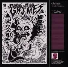 GRIMES-VISIONS LP VG COVER VG+