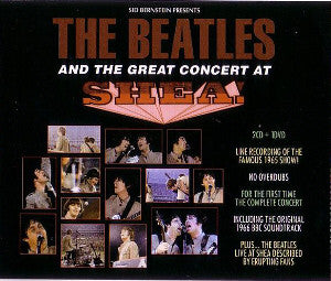 BEATLES THE-THE GREAT CONCERT AT SHEA 2CD DVD *NEW*